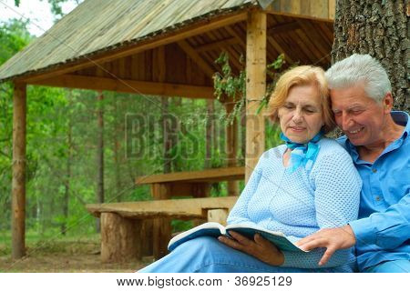 Magnificent older people are enjoying the fresh air