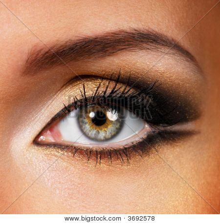 golden Beauty braun Make-up