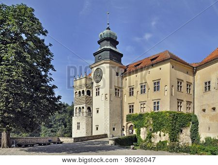 Castle Pieskowa Skala In Poland