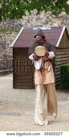 Troubadour On Stilts