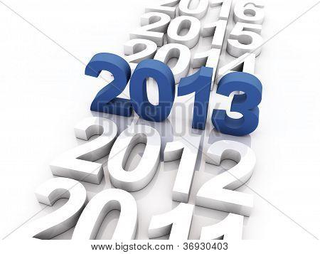 Novo ano 2013