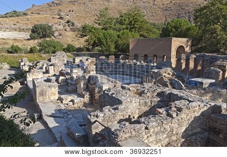 Ancient Gortyna at Crete island