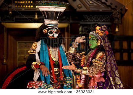 Kathakali dance, India