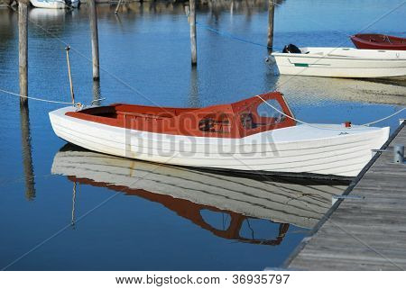 Small Vintage Boat
