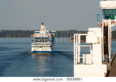 Huge Sea Ferry