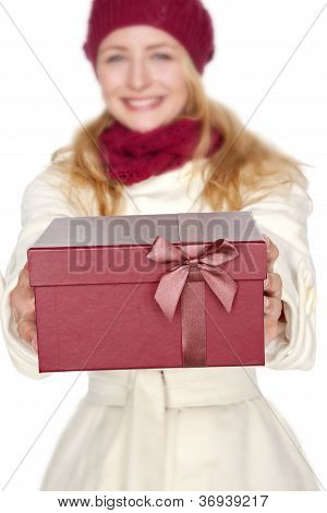 get a gift for christmas