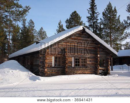 Lapland Log Cabin