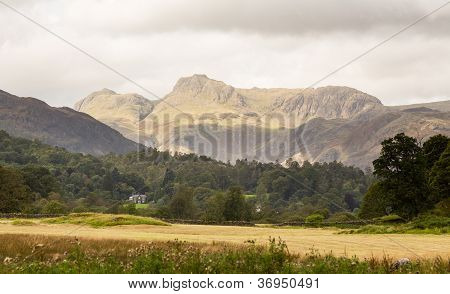 Langdale Pikes In Lake District