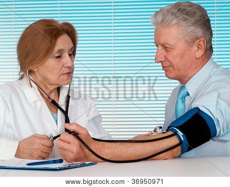Magnificent doctor and her patient