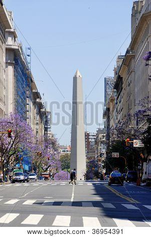 Obelisco Avenida 9 de Julio