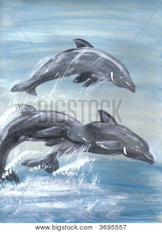 Painting Dolphins