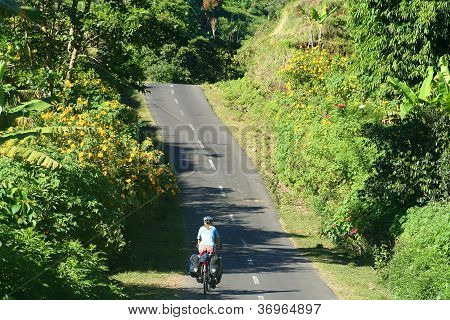 Cycling through Lombok