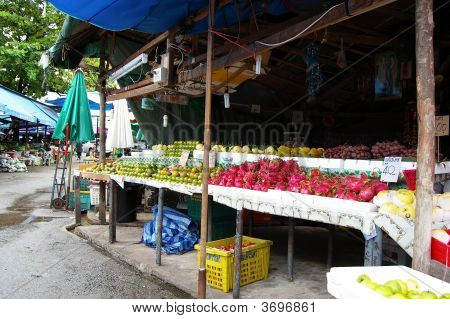 Phuket Thailand Food Market
