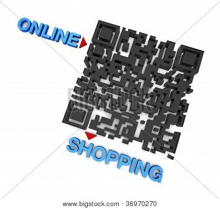 Compras on-line de QRcode