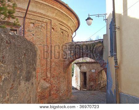 Cidade velha de Rivoli, Itália