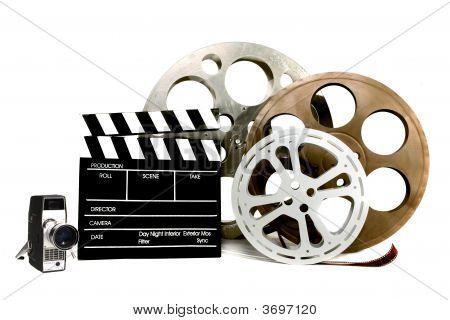 Studio Film verwandten Artikel auf weiß