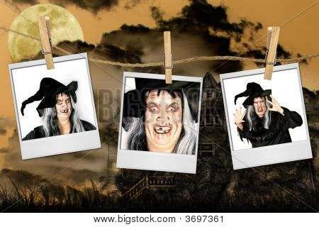 Scary Pictures Of A Witch