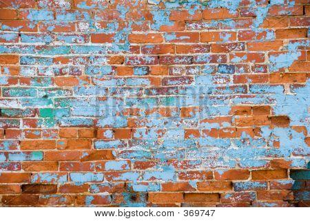 Distressed Brick Wall 3