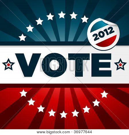 Vote 2012 Poster