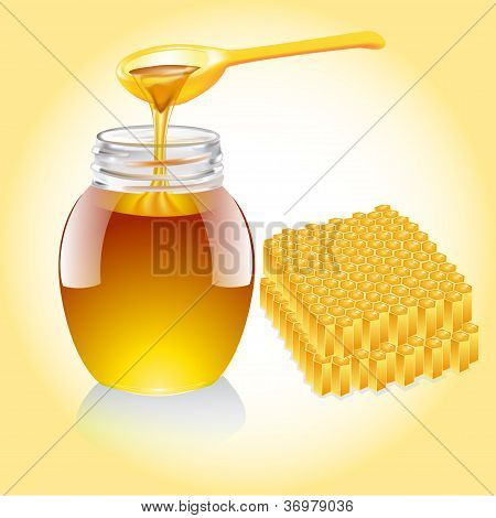 Honey Current From Spoon And Honeycomb
