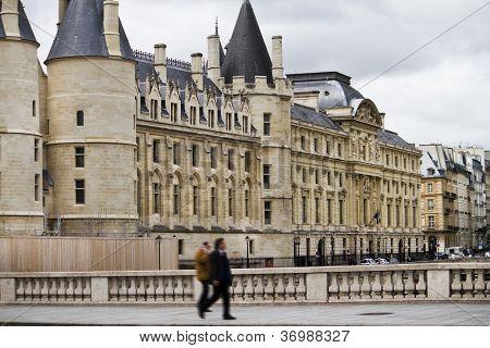 The Conciergerie, ancient prison, France