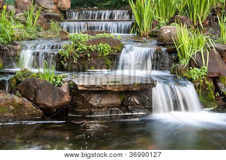 Small Waterfall Cascading
