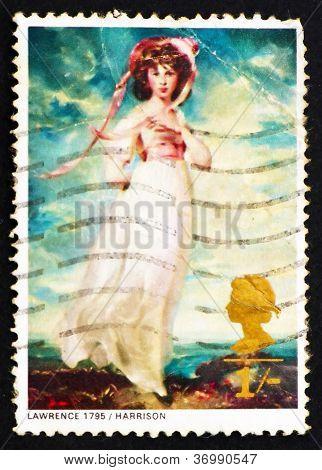 Postage Stamp Gb 1968 Pinkie By Sir Thomas Lawrence