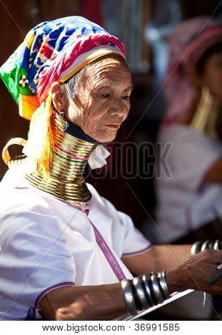 Padaung Tribe woman, Burma