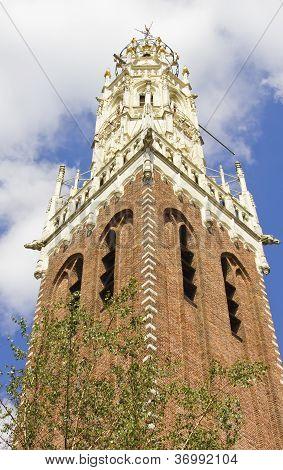 Bakenesserkerk Chruch In Haarlem, Netherlands