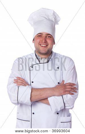 Portrait Male Chef