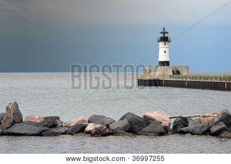 Lake Superior Lighthouse - Duluth