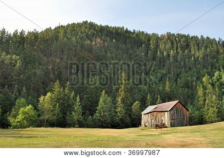 Old barn in the countyside