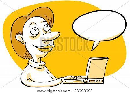 Cartoon Blogger