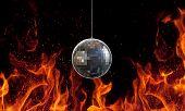 Glitterball poster