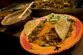 pic of mexican food  - Street food at Camden market in London - JPG