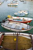 pic of st ives  - fishing boats in the harbour at st ives cornwall