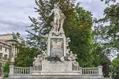 picture of mozart  - Vienna - JPG