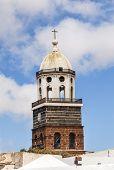 image of senora  - Teguise Lanzarote Canary Island Church Iglesia de Nuestra Senora de Guadalupe - JPG