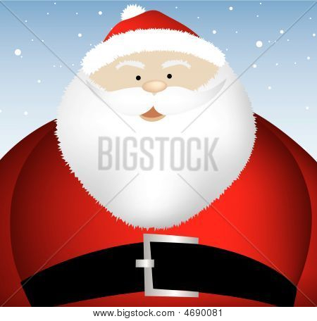Fat Santa Close Up