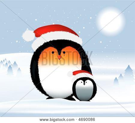 Penguins Christmas