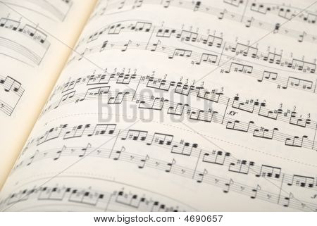 Musical Sheet Background