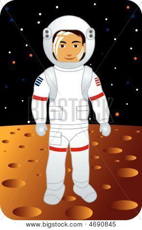 Beruf Serie: Astronauten auf dem Mond