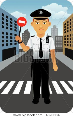 Profession Series: Police Traffic Officer