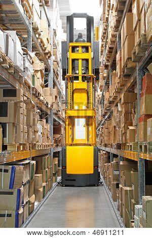 High Rack Stacker Forklift