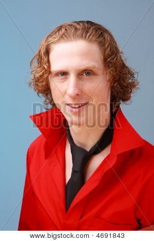Young Red Haired Man