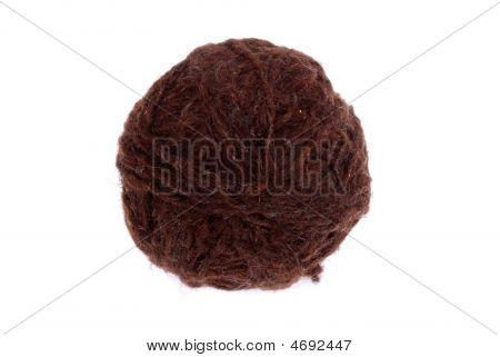 Brown Wool Ball
