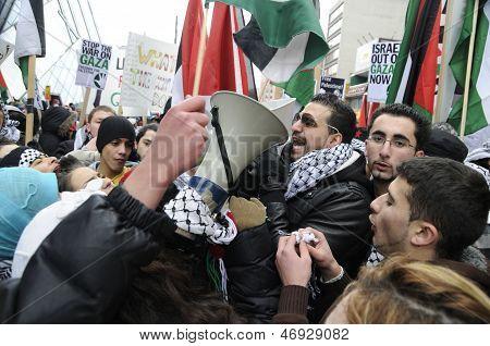 Palestinian Rally.