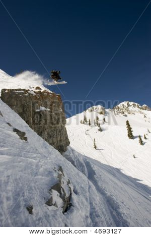 High Flying Skier