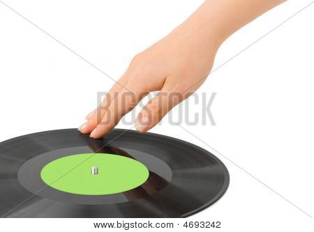 Dj Hand And Disk