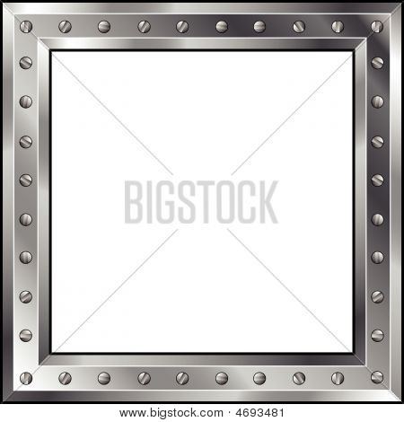 Metal-surface-frame-bolts